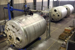 Manufacture of PED reactors