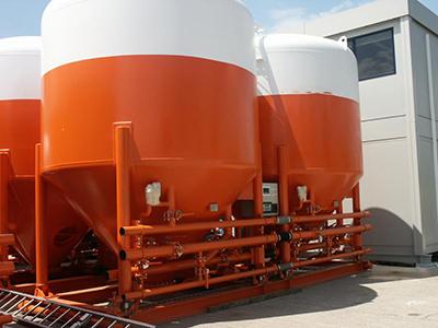 Conception et fabrication d'un silo sur skid DNV 2.7.1 (HALLIBURTON)
