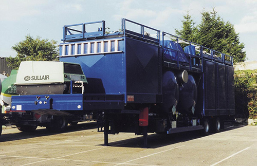 Design and manufacture of an acid mixing trailer (TOTAL)